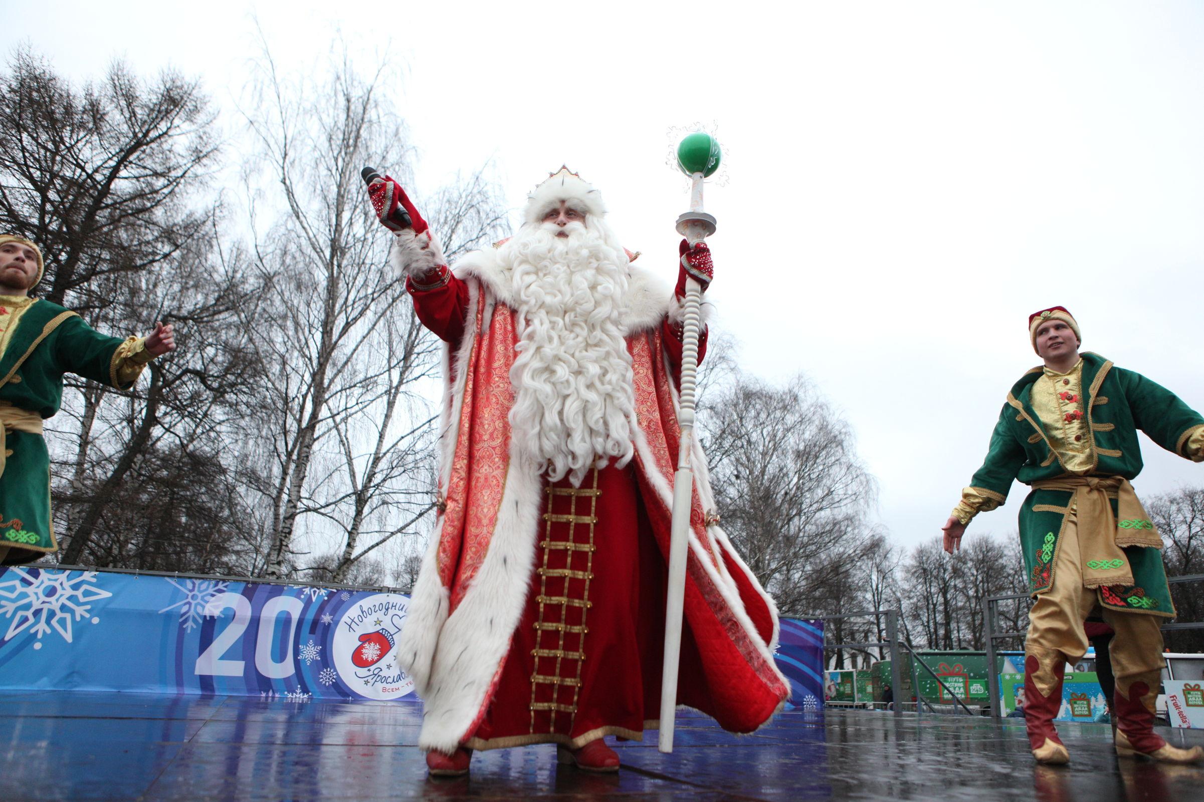 Ярославское путешествие Деда Мороза