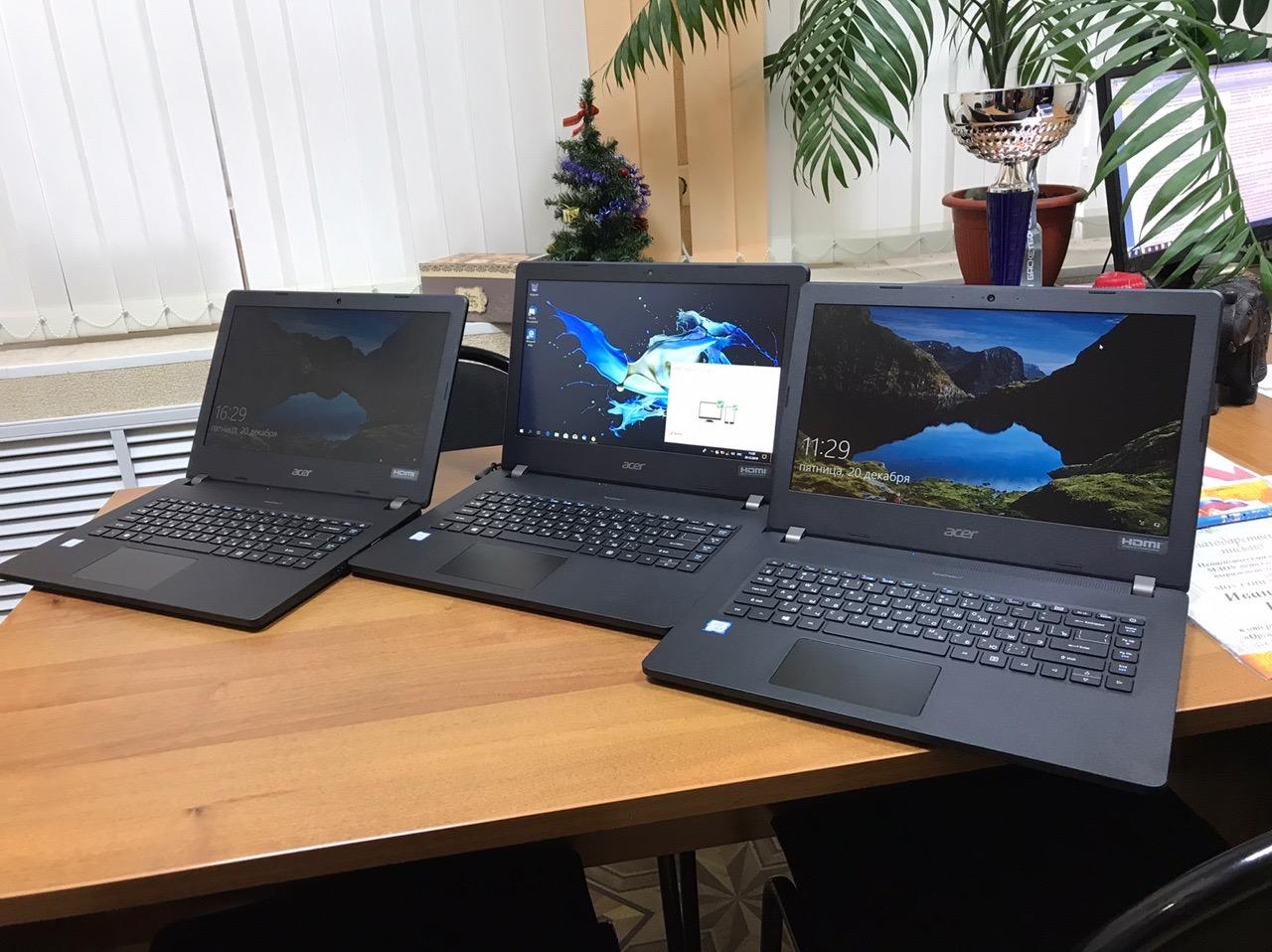 Рыбинская школа №28 получила более 30 современных ноутбуков благодаря нацпроекту