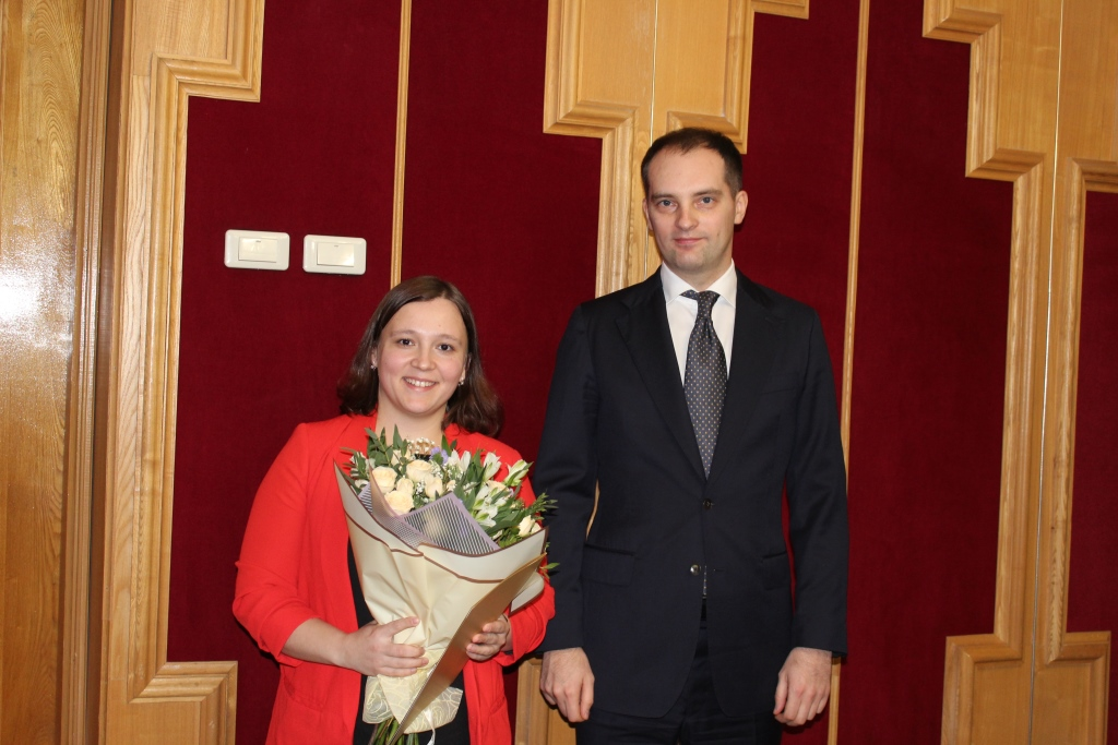 В Ярославле наградили победителей V национального чемпионата «Абилимпикс»