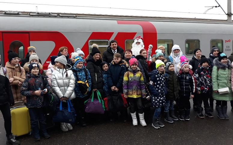 Маленькие ярославцы отправились на кремлевскую елку