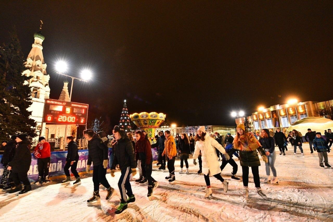 Открытие катка в центре Ярославля перенесли на сутки
