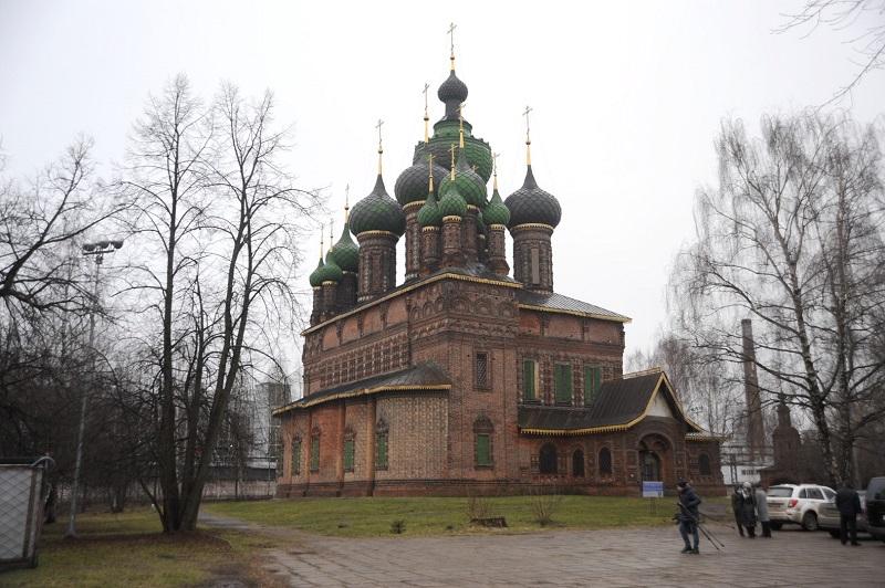 Ярославскую церковь с тысячерублевой купюры начали реставрировать