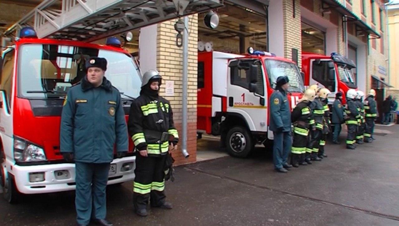В центре Ярославля открыли новую пожарную часть