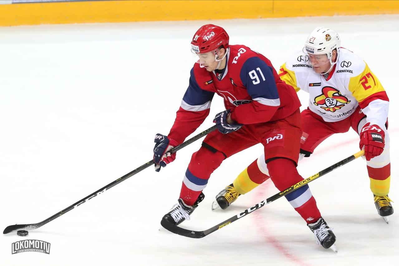 «Локомотив» уступил «Йокериту» в овертайме