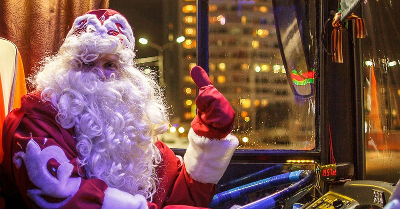 В Рыбинске в новогоднюю ночь для горожан пустят дополнительные автобусы: расписание