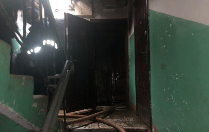 В Ярославской области на пожаре пострадал мужчина