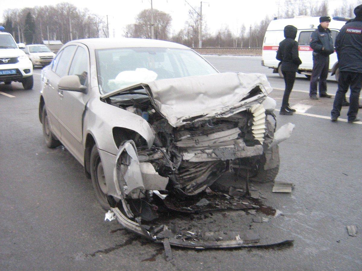 В аварии в Ярославской области двое мужчин сгорели заживо