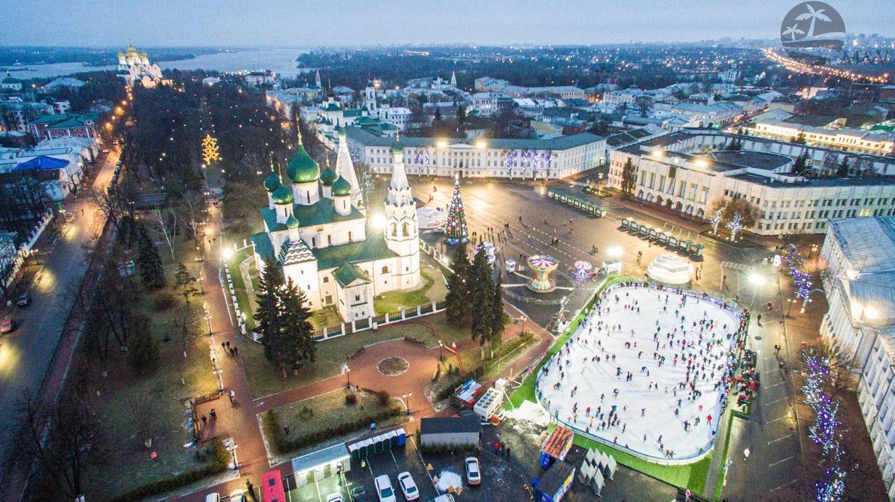 Как отметят Новый год в городах Ярославской области