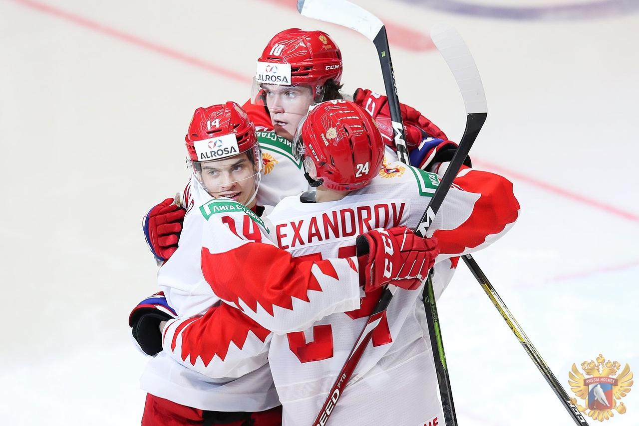 Форвард «Локомотива» помог сборной России выйти в полуфинал молодежного чемпионата мира
