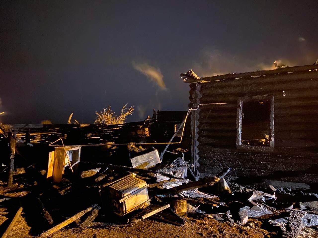 Правительство окажет помощь семье, потерявшей троих детей при пожаре
