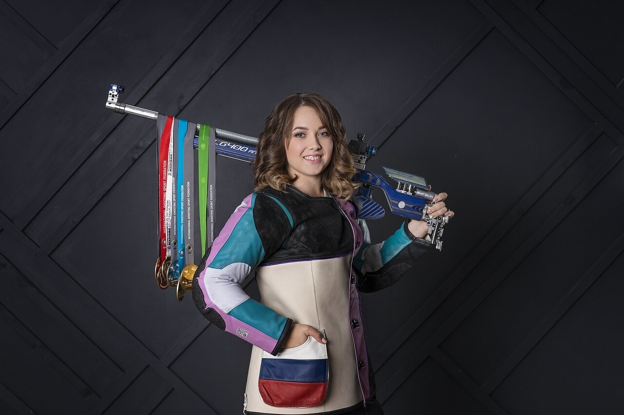 Ярославна заняла второе место на чемпионате России по пулевой стрельбе