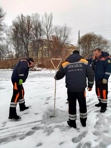 Лед на водоемах в Ярославле оказался не готов к Крещению: итоги проверки