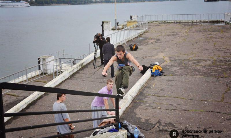 В Ярославле состоится бесплатный мастер-класс по паркуру
