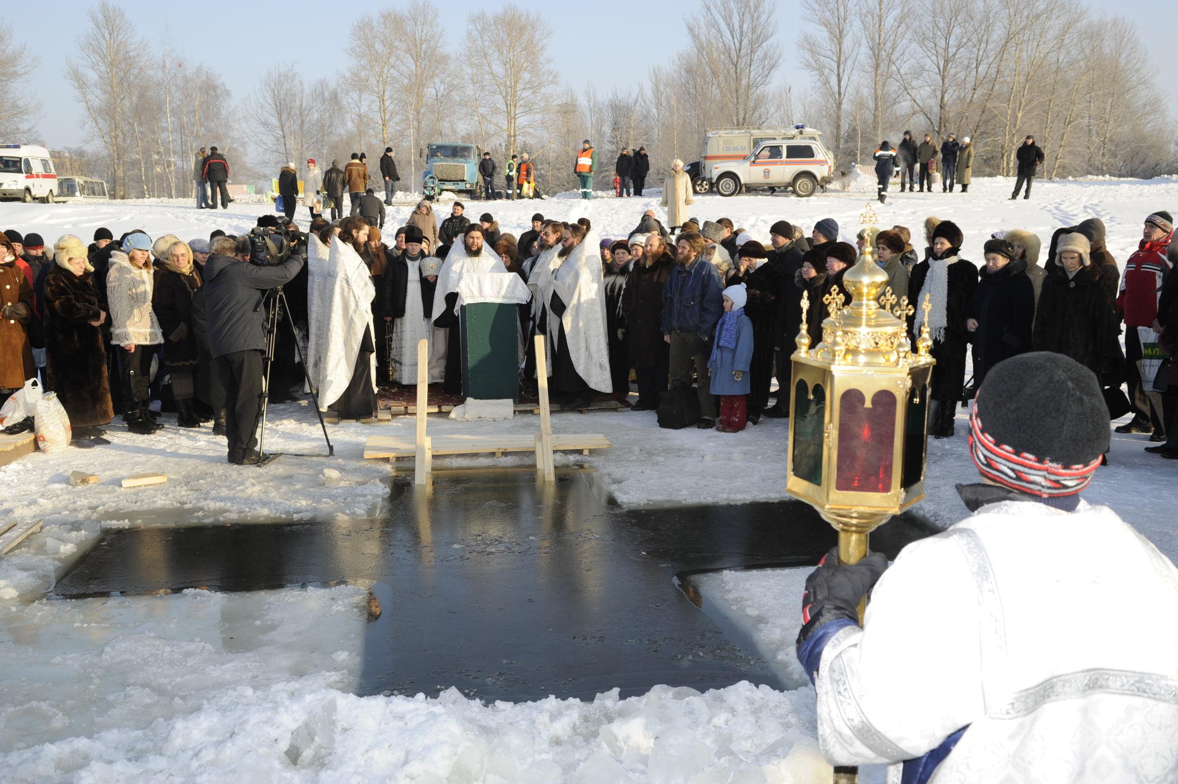 В Ярославле для крещенских купаний оборудуют только одну купель