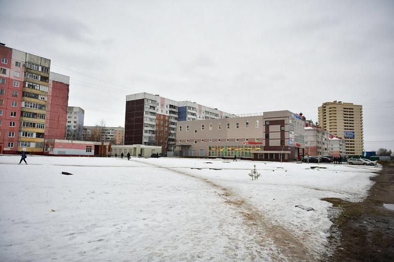 В Заволжском районе Ярославля появится новый сквер