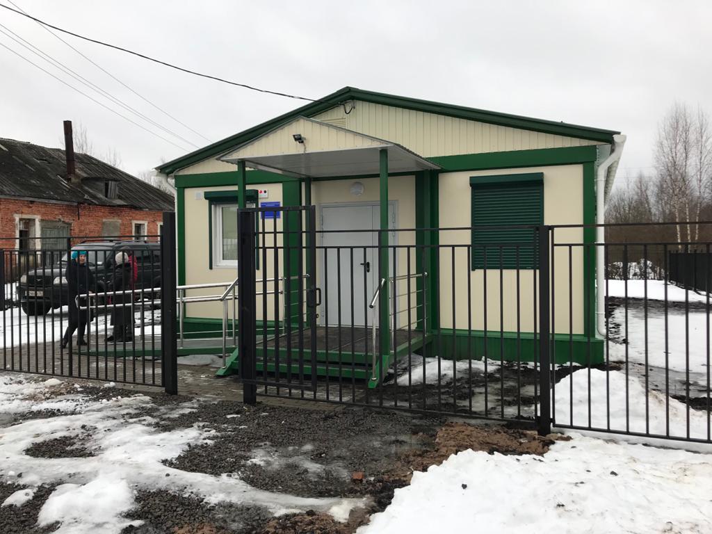 Новый фельдшерско-акушерский пункт открыли в селе Покров Рыбинского района
