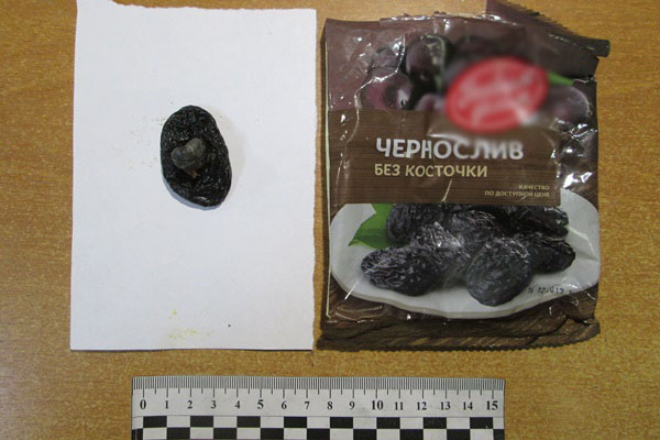 Чернослив без косточки, но с «изюминкой»: в ярославскую колонию пытались пронести наркотики