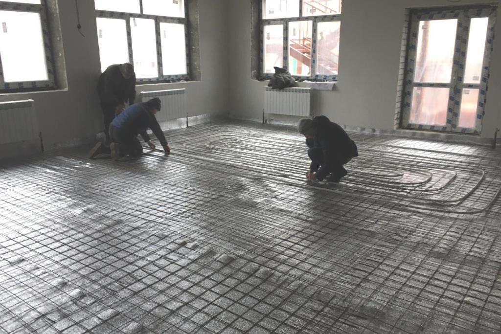 Строительство детского сада в Дзержинском районе Ярославля ведется с опережением графика