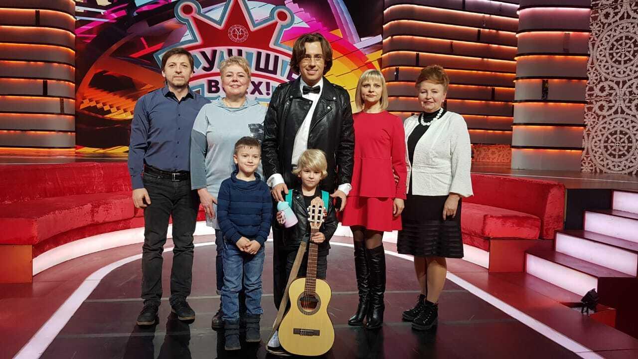 Мальчик из Рыбинска снялся в шоу Максима Галкина на Первом канале