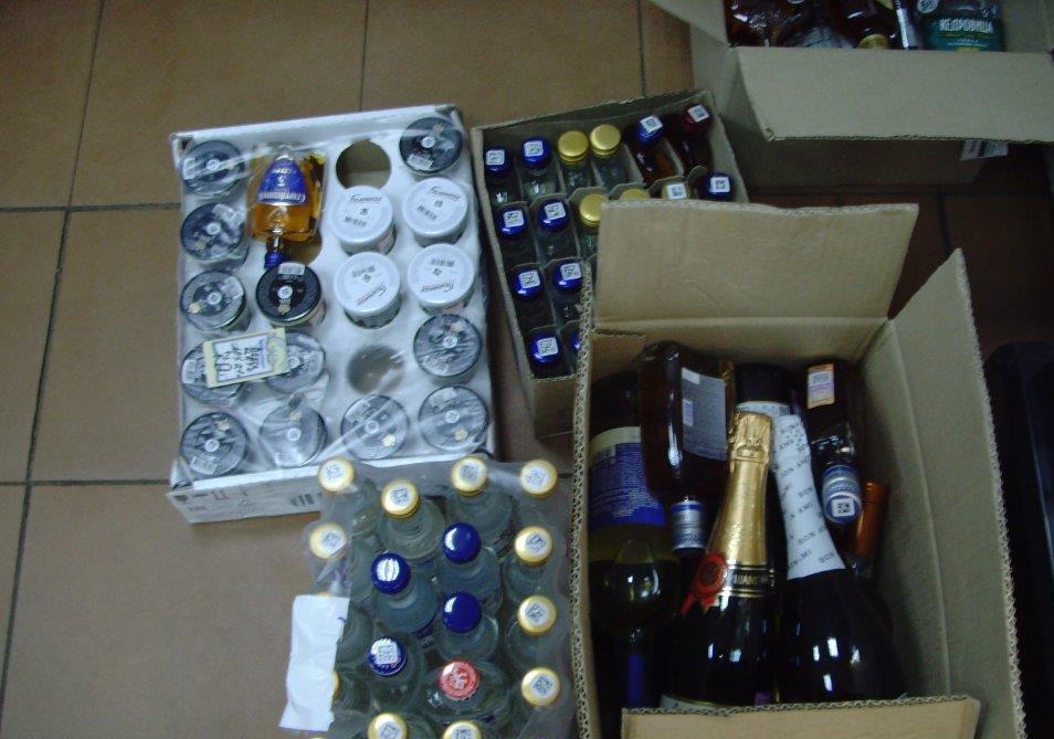 В Ярославской области проводят рейды по выявлению незаконной торговли спиртным