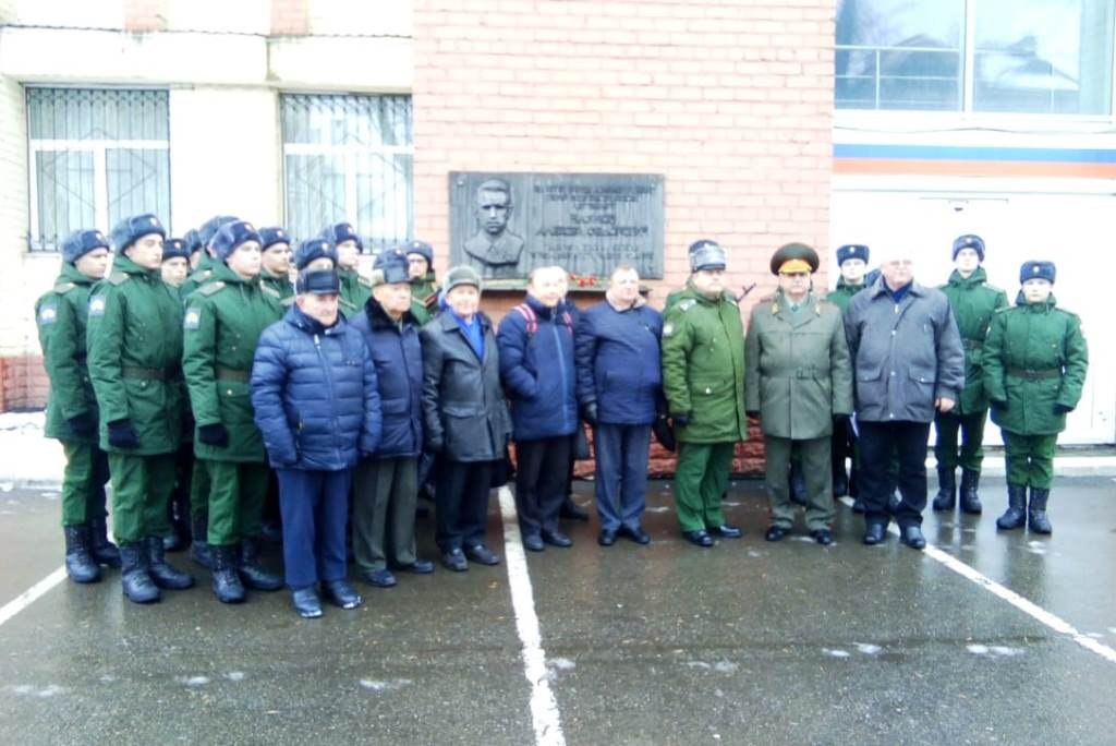 В Ярославле состоялся митинг в память о подвиге экипажа танкистов под командованием лейтенанта Наумова