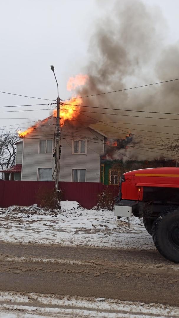 За сутки в Переславле произошло два крупных пожара: пострадала женщина