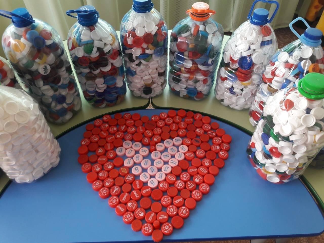 Ярославцы могут помочь детям, собирая пластиковые крышечки