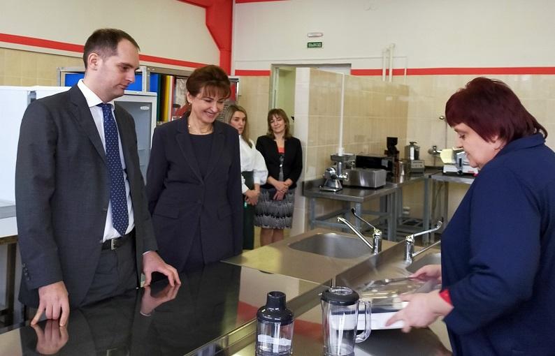 В Ярославском колледже индустрии питания созданы мастерские в соответствии с международными стандартами «Ворлдскиллс»