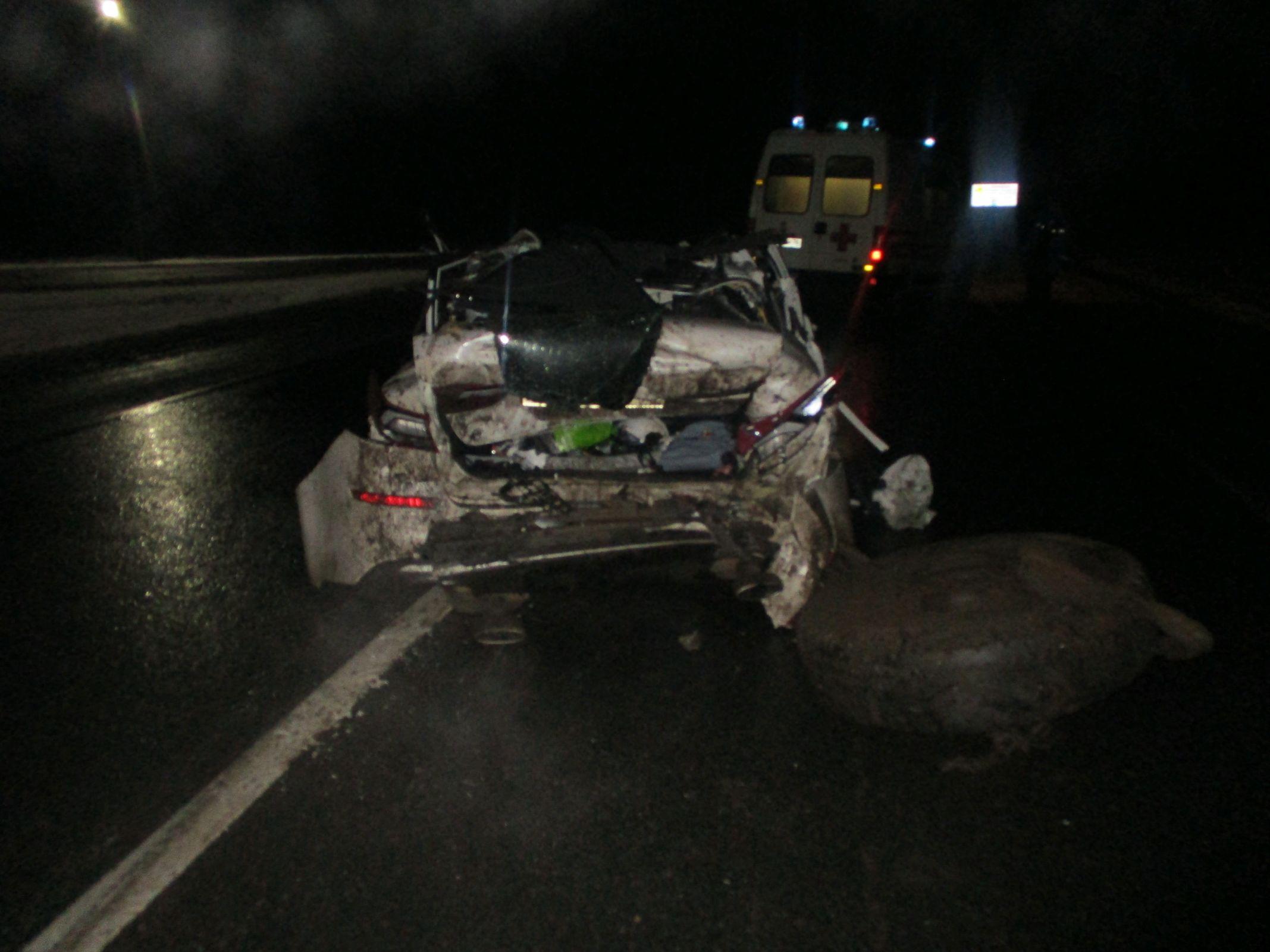 В Ярославской области в тройном ДТП на федеральной трассе погиб человек, двое пострадали