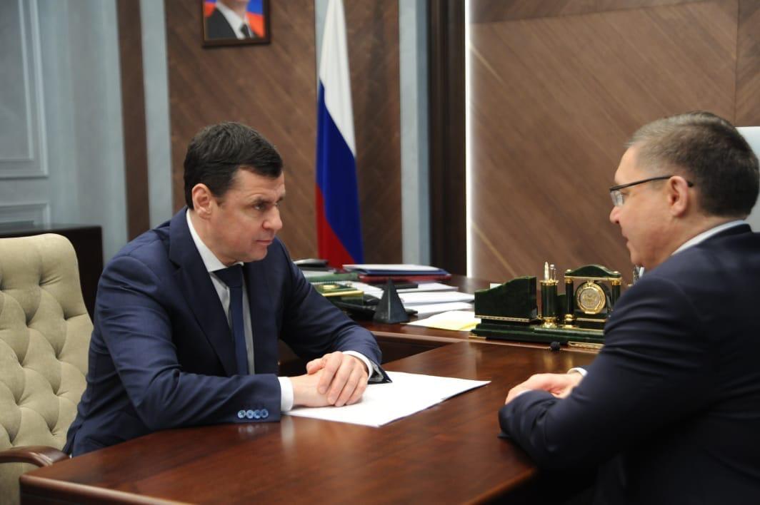 Дмитрий Миронов: Ярославская область может получить около 900 миллионов рублей на реконструкцию коммунальных объектов