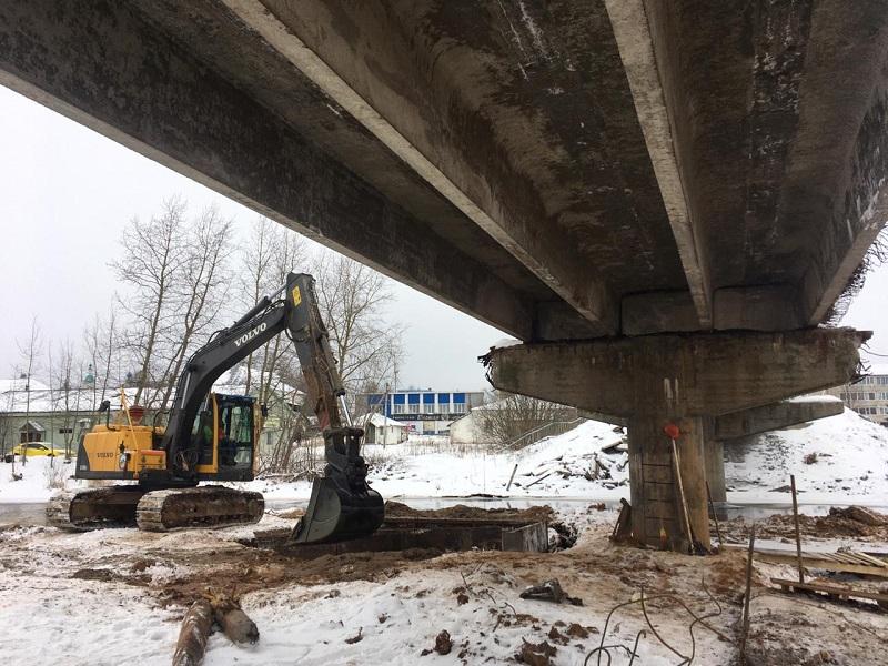 В Ярославской области капитально ремонтируют устаревший мост