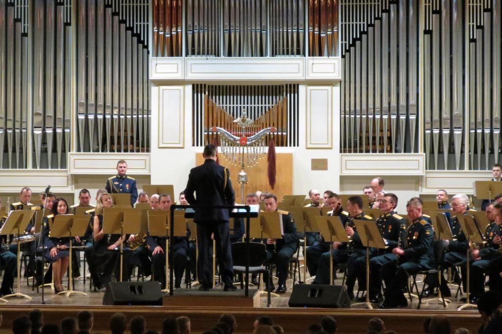 Военные оркестры выступили в Ярославской филармонии в честь открытия Года памяти и славы