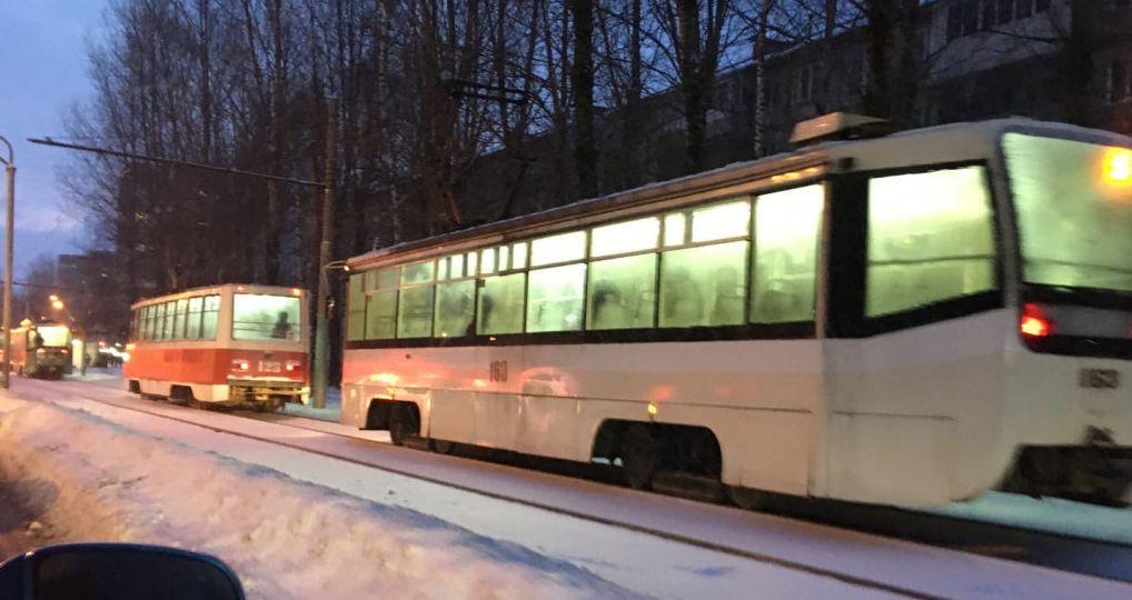 В Ярославле в час пик из-за ДТП встали трамваи
