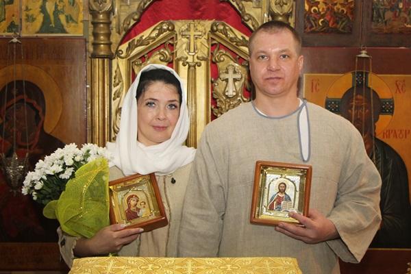 В рыбинской колонии в строящемся храме прошел православный обряд
