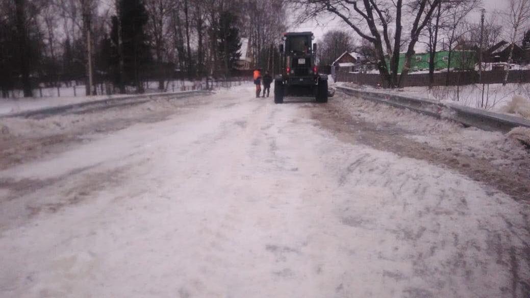 В Ярославской области открыли для проезда участок ранее затопленной трассы