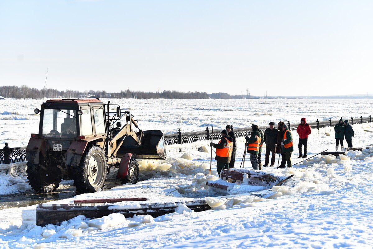 Дмитрий Миронов: угроза дальнейшего подъема воды в Ярославской области миновала