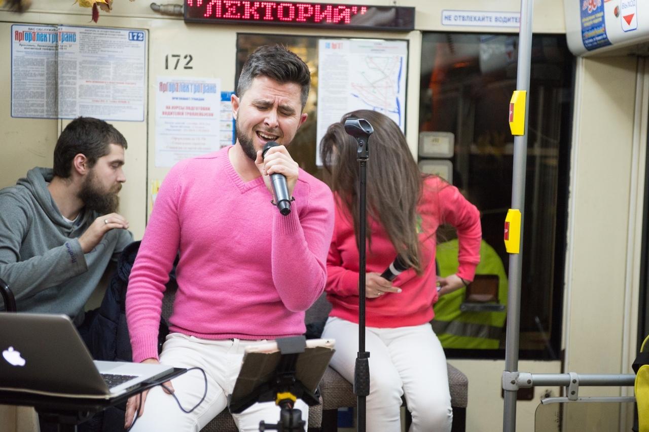 По Ярославлю вновь проедет музыкальный трамвай