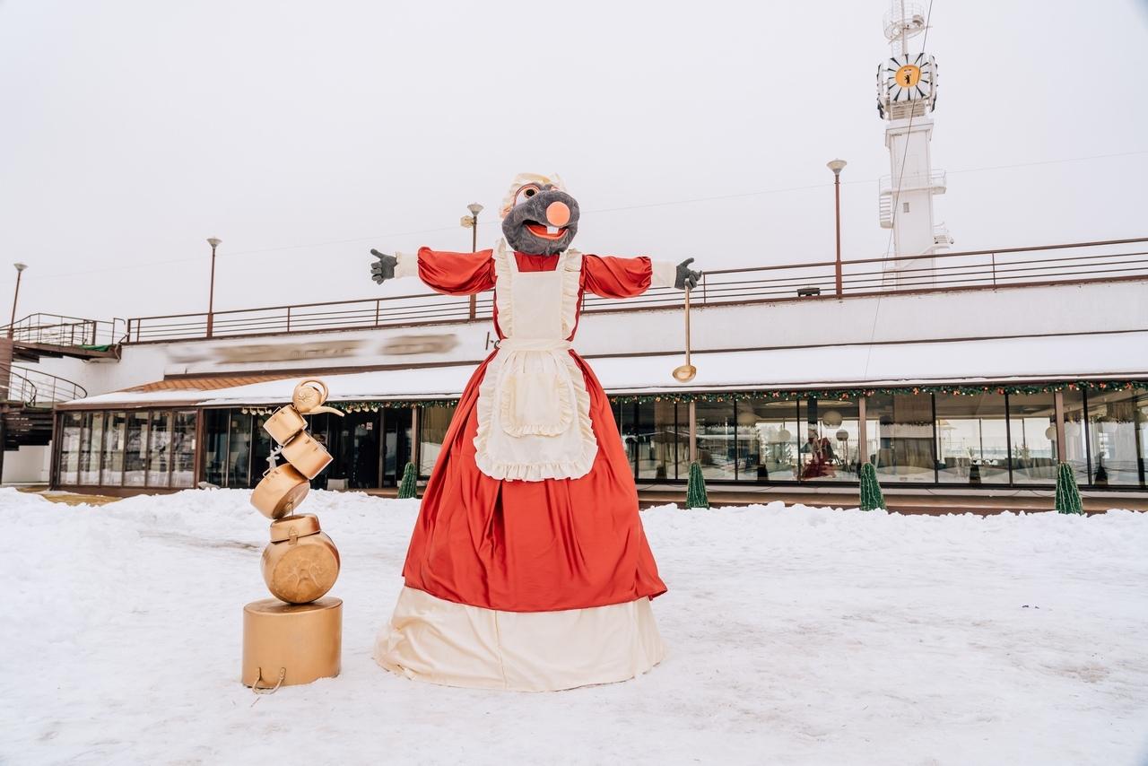 «Первое чучело Масленицы»: в Ярославле появилась мышь-хозяйка