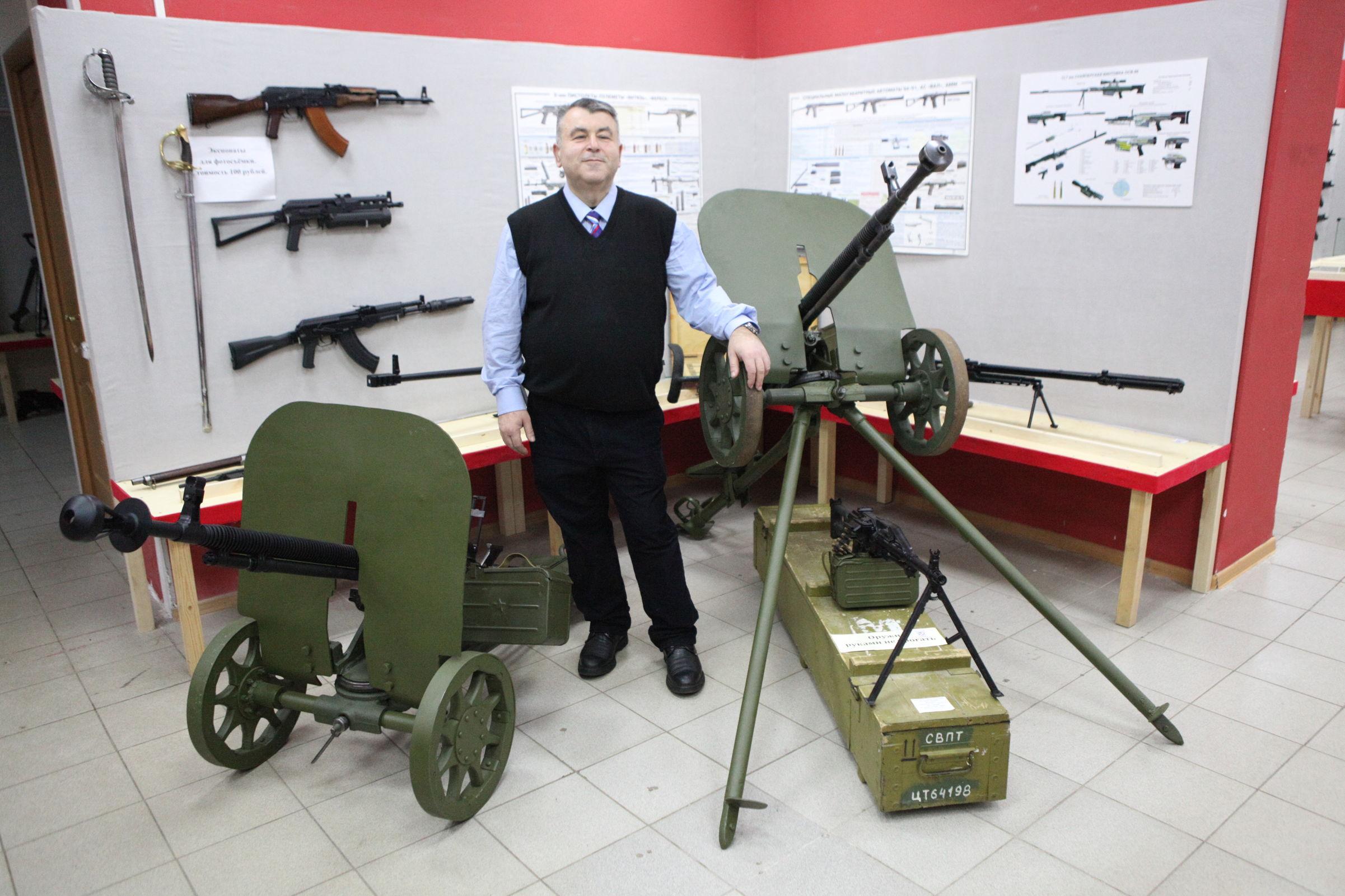 Мужское дело. Ярославец создал музей оружия, где собрал полтысячи экземпляров