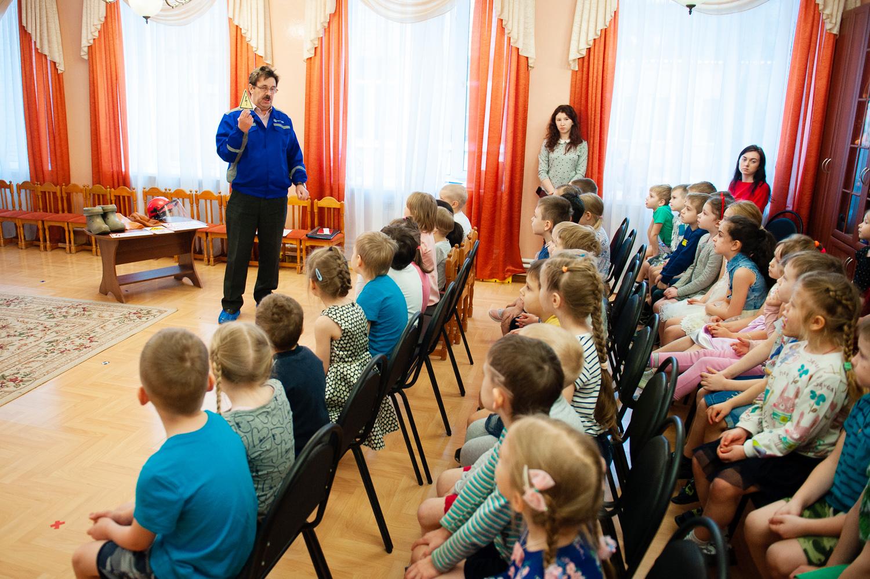 Ярославские энергетики рассказали дошколятам об электробезопасности