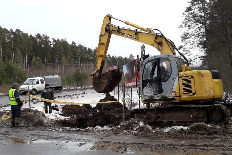 В Угличе начали строительство распределительного газопровода