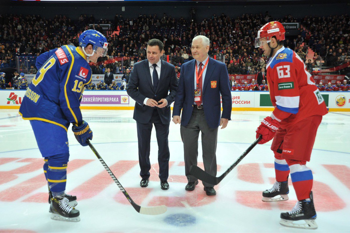 Дмитрий Миронов: вокруг матча Евротура в Ярославле уже начался ажиотаж