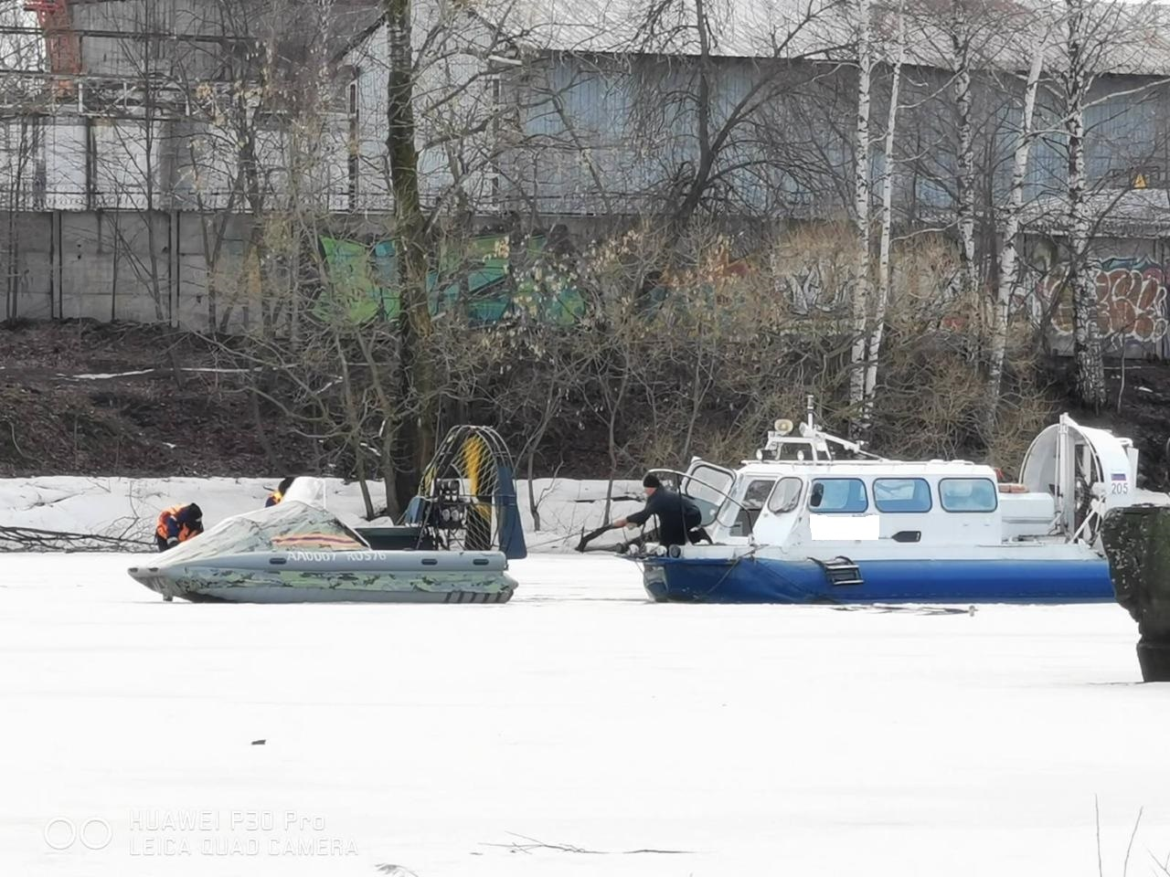 В Ярославле спасатели эвакуировали восьмерых человек со сломавшегося судна