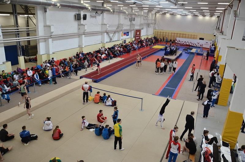 Спортсмены из 36 регионов приехали в Ярославль для участия в Кубке России по прыжкам на батуте