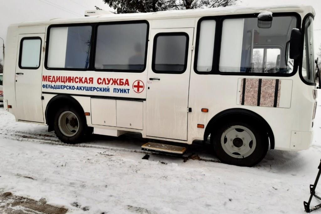 Более 200 сельских жителей Даниловского района прошли осмотр в новом мобильном ФАПе с начала года