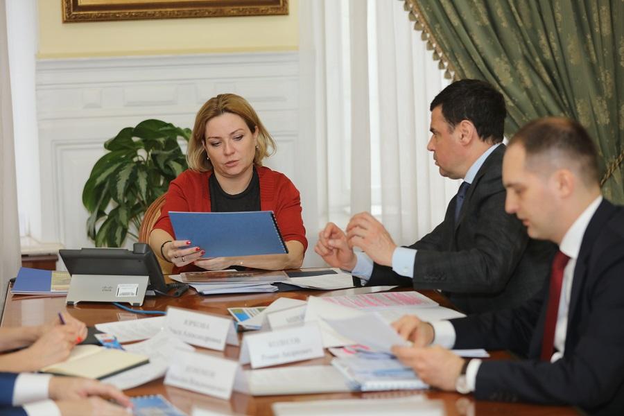 Министр культуры РФ Ольга Любимова и губернатор Дмитрий Миронов обсудили проведение в регионе реставрационных работ