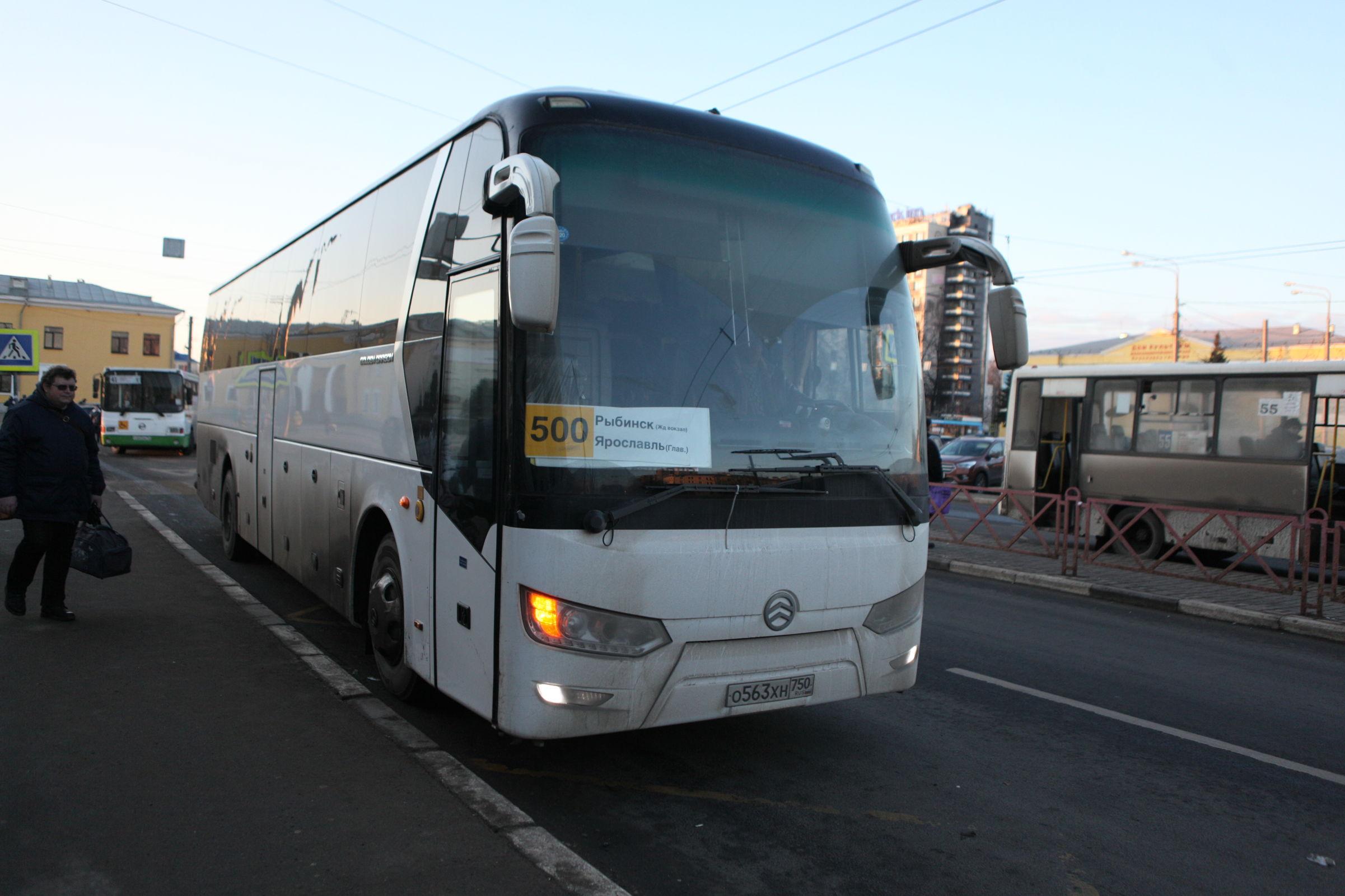 Автобусы на рыбинском направлении соответствуют сложившемуся пассажиропотоку