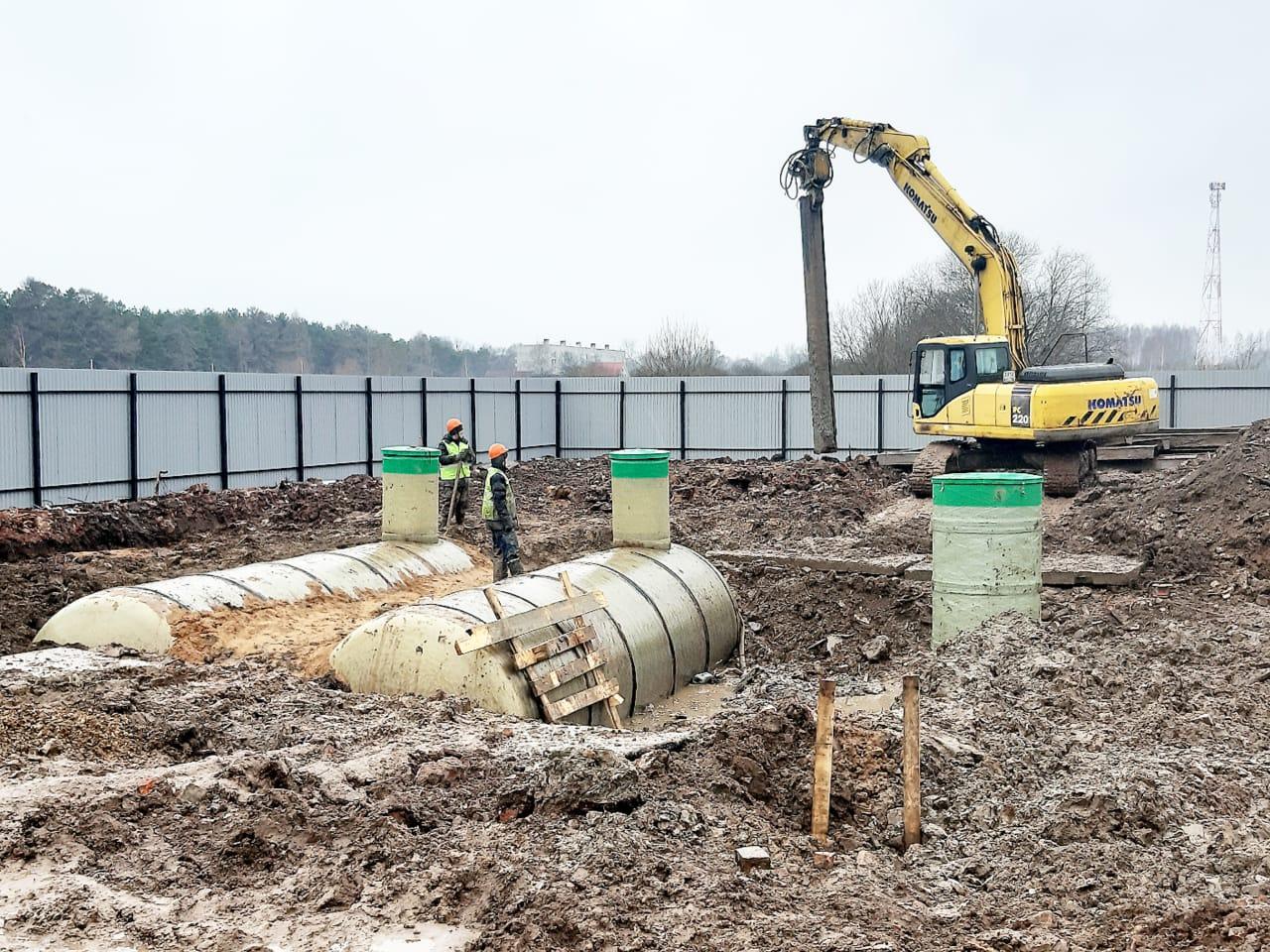 В поселке Красный Профинтерн начали реконструкцию очистных сооружений
