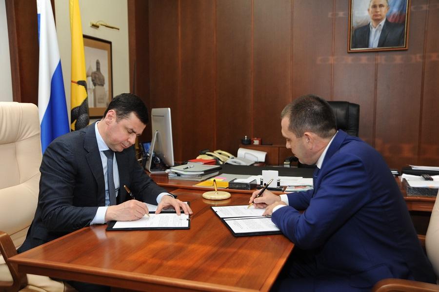 Дмитрий Миронов: «Славнефть-ЯНОС» направит 150 млн. рублей на реализацию в Ярославской области общественно значимых проектов