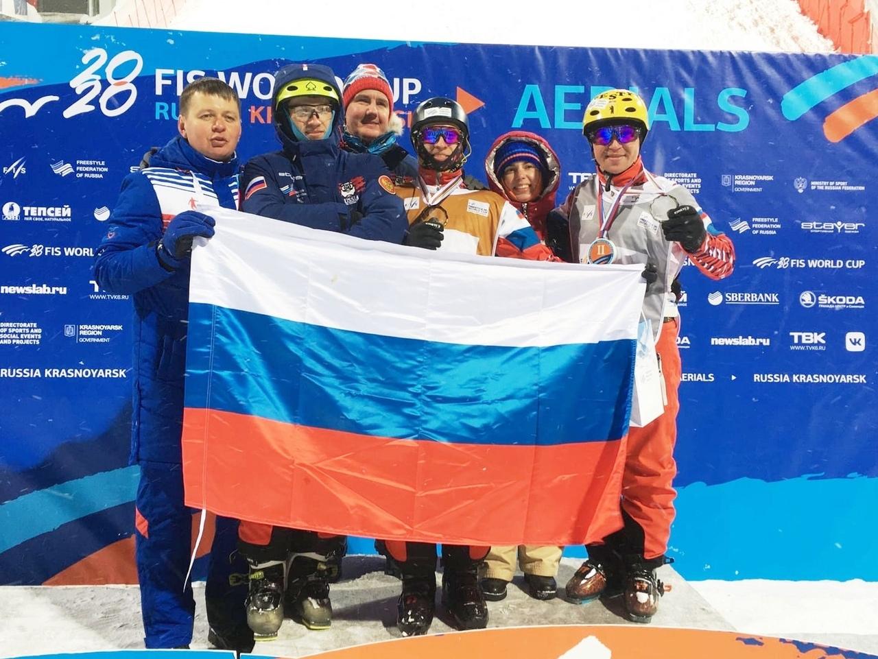 Ярославец стал серебряным призером Кубка мира по фристайлу
